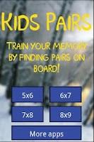 Screenshot of Kids pairs