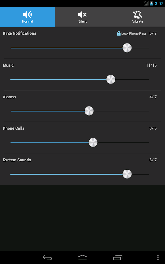 Volume control free- screenshot