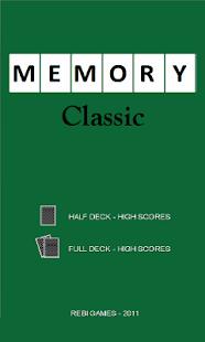 Memory Classic- screenshot thumbnail