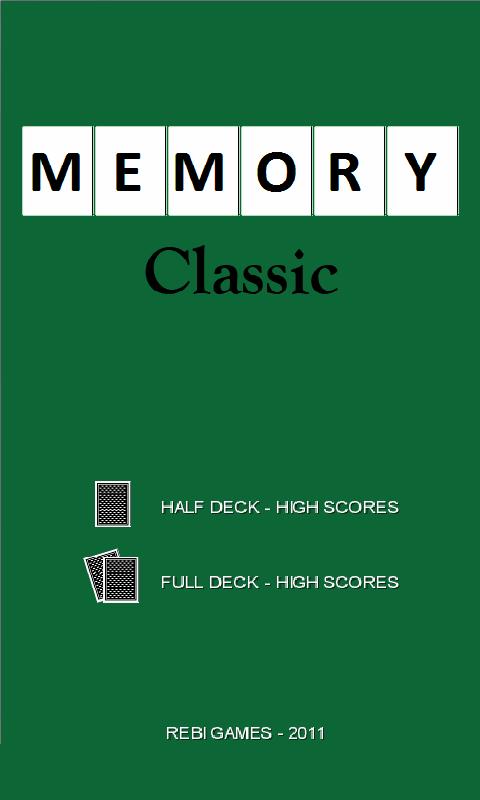Memory Classic- screenshot