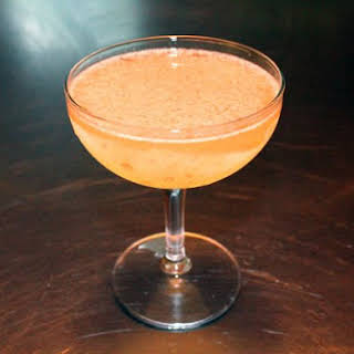 Sidecar with Cognac and Rum.