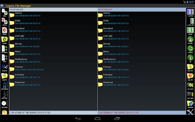 File Manager - screenshot