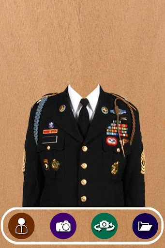Army Suit Photo Camera