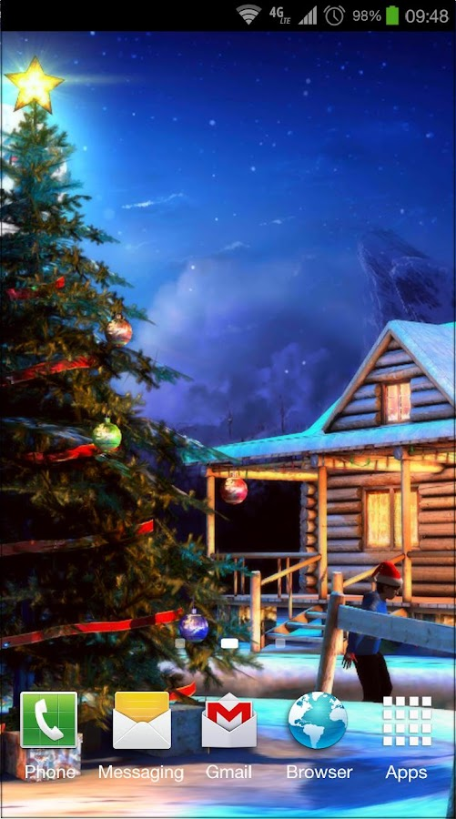 christmas 3d live wallpaper android apps on google play