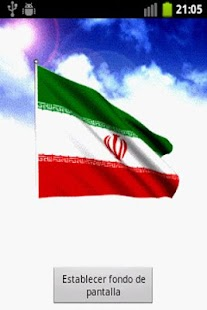 Iran Flag Live Wallpaper - screenshot thumbnail