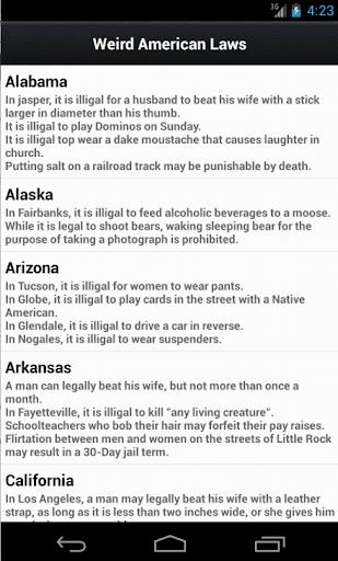 Weird US Laws