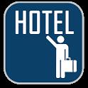 Cheap hotels & hostel deals icon