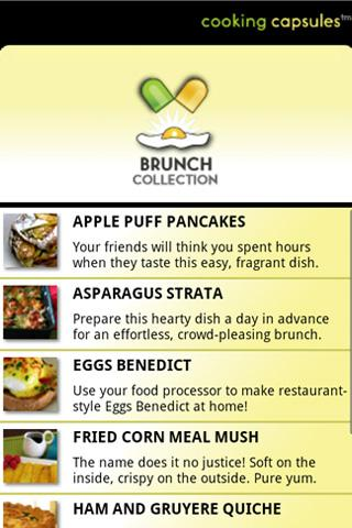 Cooking Capsules Brunch- screenshot