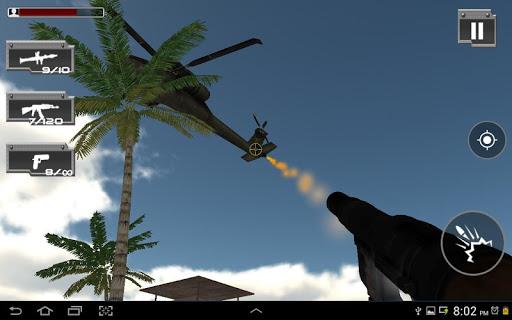 commando attack action game