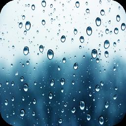 自然音 - 雨を緩和