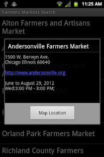 Illinois Farmer's Markets- screenshot thumbnail