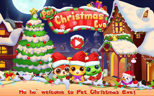 Pet Christmas eve