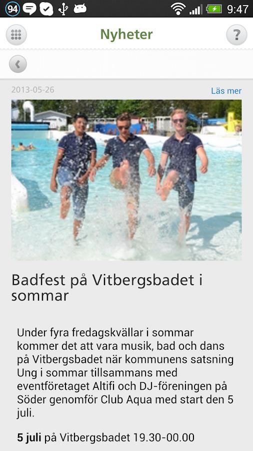 Mitt Skellefteå - screenshot