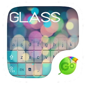 Free Z Glass GO Keyboard Theme Gratis