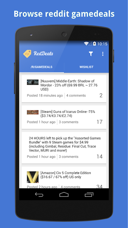 RedDeals - screenshot