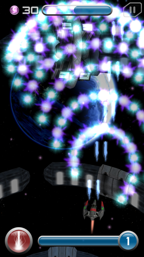 Exp3D  (Shmup)- screenshot