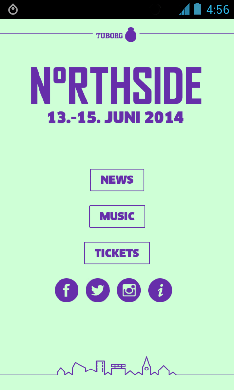 NorthSide Festival 2014 - screenshot