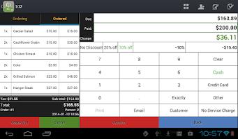 Screenshot of Restaurant POS (Full)