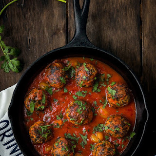 Eggless Turkey and Spinach Meatballs Recipe