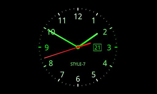 Download Analog Clock Live Wallpaper 7 Google Play