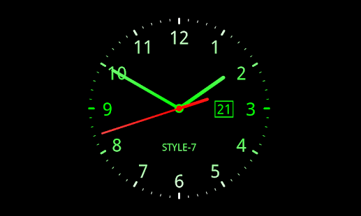 Analog Clock giAa5xyuf6tpnQGTSIFK