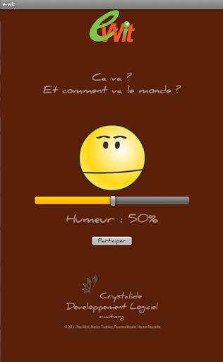 玩娛樂App|e-wit - humeur du monde免費|APP試玩