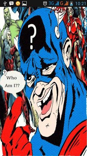 Guess Comic Characters
