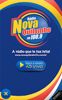 Screenshot of Rádio Nova Quilombo