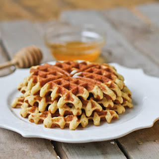Gluten-Free Almond Flour Waffles.