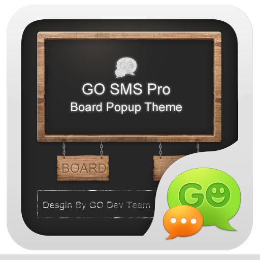 GO短信黑板即显主题 LOGO-APP點子