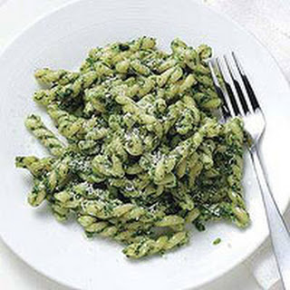 Kale-Walnut Pesto Pasta.