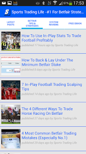STL - Strategies For Betfair- screenshot thumbnail