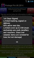 Screenshot of Postage Pro UK 2015 Free
