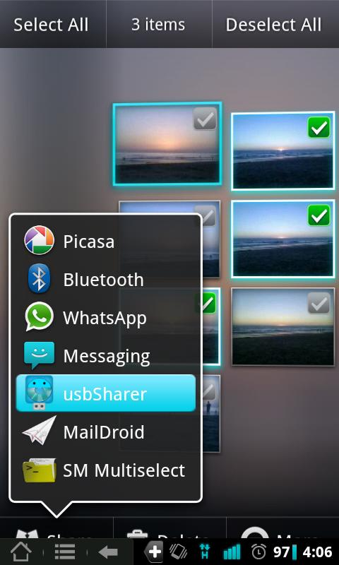 Usb Sharer [Root] - screenshot