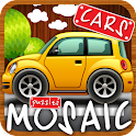 Animated puzzles cars