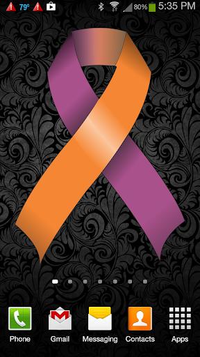 Psoriasis Awareness Ribbon