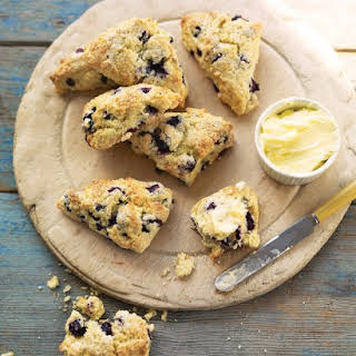 Blueberry-Buttermilk Scones.