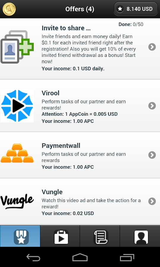 AppCoins (How to make money)- screenshot
