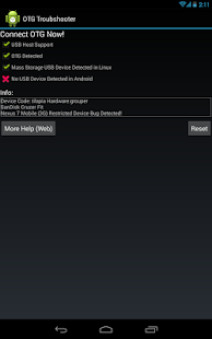 OTG Troubleshooter- gambar mini screenshot