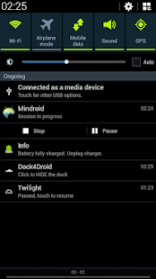 Mindroid - screenshot thumbnail