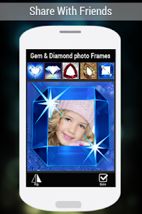 Gem & Diamond Photo Frames screenshot 11