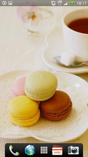 My Tea Time ライブ壁紙