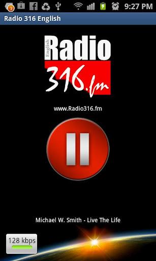 【免費音樂App】Radio 316 English Radio-APP點子