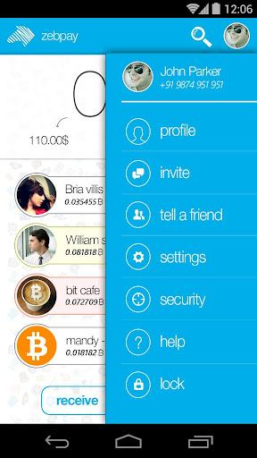 Zebpay Bitcoin Wallet