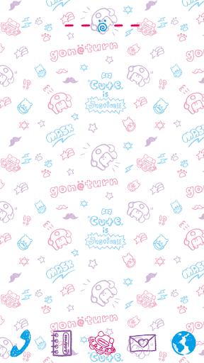 gonoturn-Pastel Sketch Theme