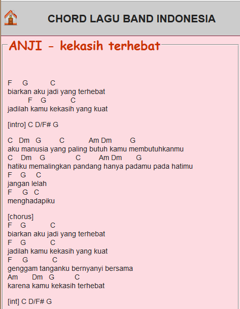 Chord Lagu - Android Apps on Google Play