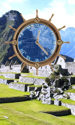 Machu Picchu Travel Compass HD