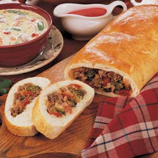Sausage Broccoli Bread