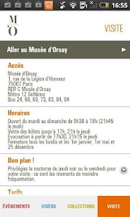 Museo d'Orsay - screenshot thumbnail