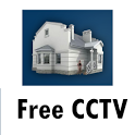 Free CCTV security monitoring icon